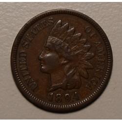 USA 1 Cent 1894 KM90a