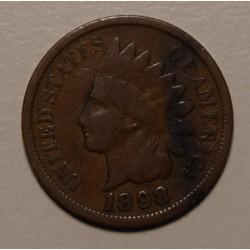 USA 1 Cent 1898 KM90a
