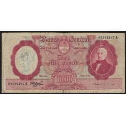 B2187 10000 Pesos 1962