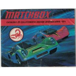 Matchbox Catalogo de Coleccionista Internacional 1975