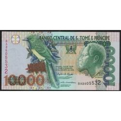 Santo Tomas y Principe P66c 10000 Dobras 2004 UNC