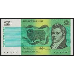Australia P43e 2 Dollares UNC