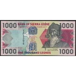 Sierra Leone P24a 1000 Leones 2002 UNC