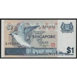 Singapur P9 1 Dollar 1976 UNC
