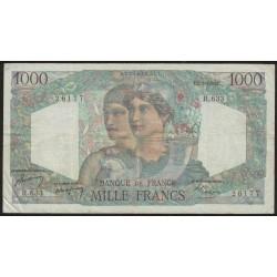 Francia P130b 1000 Francos 1950