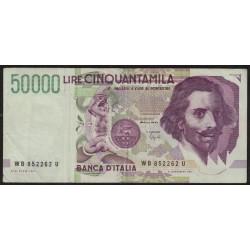 Italia P116b 50000 Liras 1992