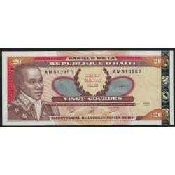 Haiti P271Aa 20 Gourdes 2001