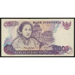 Indonesia P126a 10000 Rupias 1985