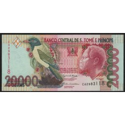 Santo Tomas y Principe P67c 20000 Dobras 2004 UNC