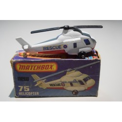 Matchbox N°75 Helicopter Nuevo C/caja