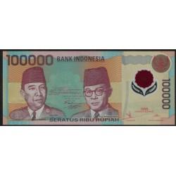 Indonesia P140 100.000 Rupias 1999 UNC