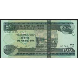 Ethiopia P52f 100 Birr 2012 UNC