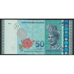 Malasia P50 50 Ringgit 2009 UNC