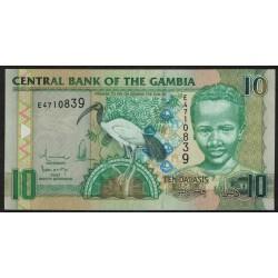 Gambia P26 10 Dalasis 2006 UNC