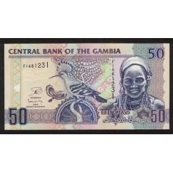 Gambia P28 50 Dalasis 2006 UNC