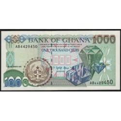 Ghana P32a 1000 Cedis 1996 UNC