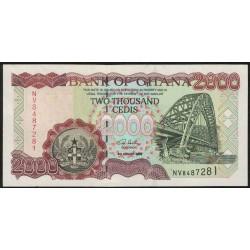Ghana P33h 2000 Cedis 2003 UNC