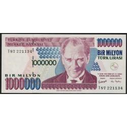 Turquia P213 1.000.000 Liras 1970 UNC