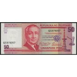 Filipinas P193a 50 Piso 2004 UNC