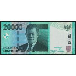 Indonesia P144a 20.000 Rupias 2004 UNC