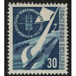 Alemania Occidental Yv-56 Nuevo con Bisagra