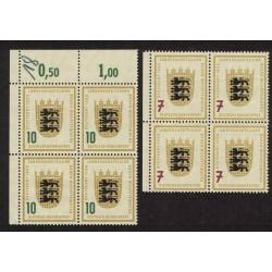 Alemania Occidental Yb-89/90 Cuadro Serie Completa Mint