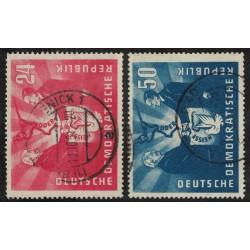 Alemania Oriental Yv-36/37 Usados