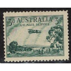 Australia Aereo Yv-2 Nuevo Sin Goma