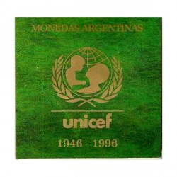 Blister 50th Aniv Unicef 1996 UNC