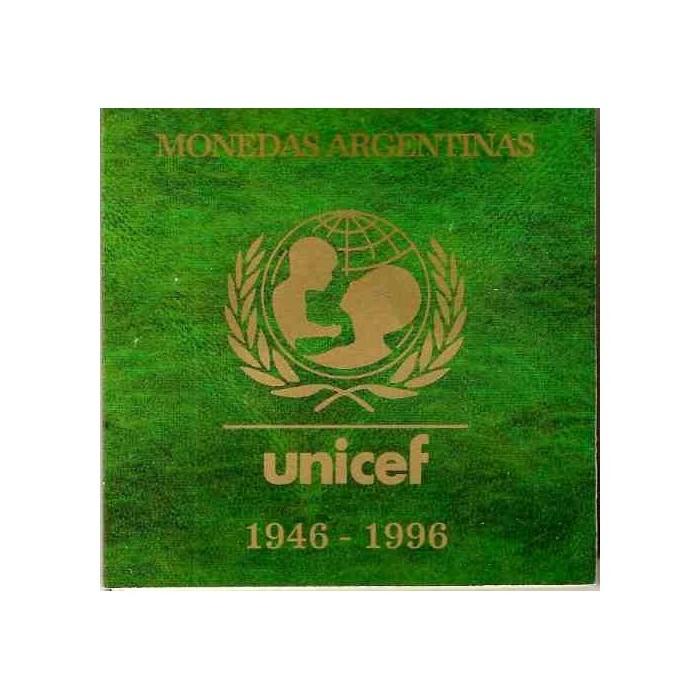 Blister 50th Aniv Unicef 1996 UNC