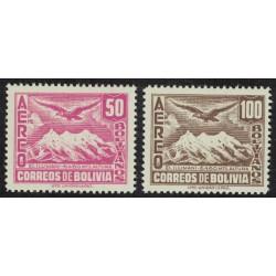 Bolivia Aereos Yv-61/62 Mint