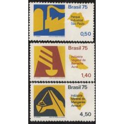 Brasil Yv-1135/1137 Serie Completa Mint
