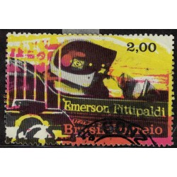 Brasil Sello Postal del Block 30 Usado