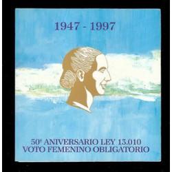 Blister Eva Perón 1997