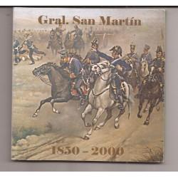 Blister Gral San Martin Año 2000