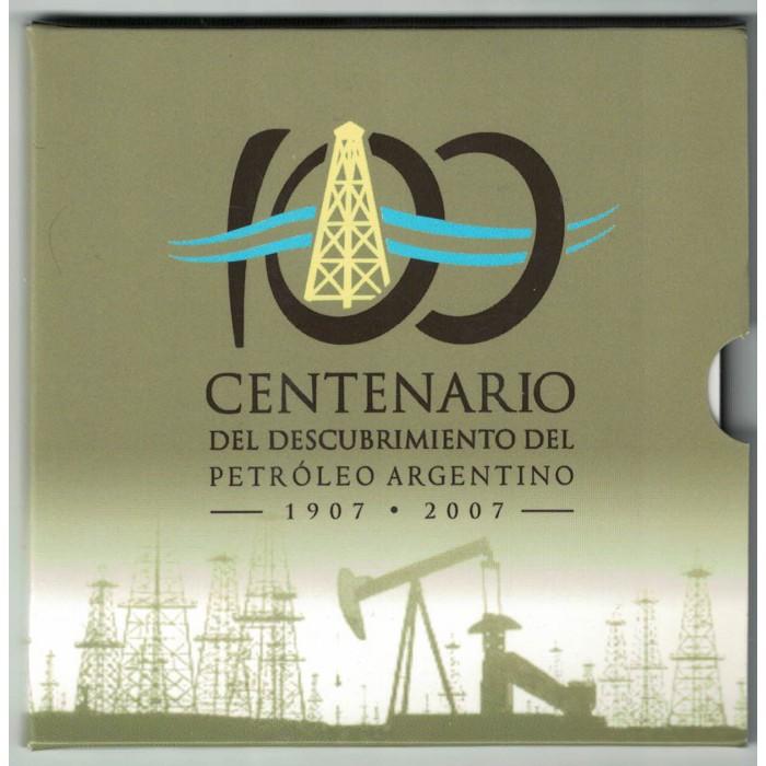 Blister Centenario Del Descubrimiento del Petróleo Argentino
