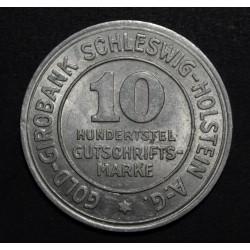 Alemania 10 Pfenning 1923
