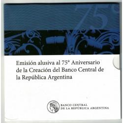 Blister 75° Aniv Creación BCRA 2010