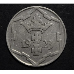 Alemania Danzig 10 Pfenning 1923 KM143