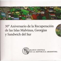Blister 30° Aniv Recuperacion Islas Malvinas...2012