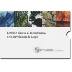 Blister Bicentenario De La Revolucion de Mayo 2010