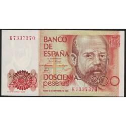 España P156 200 Pesetas 1980 UNC