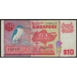 Singapur P11 10 Dolares 1976