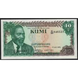 Kenia P16 10 Shillings 1978 UNC