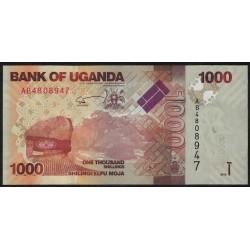 Uganda P49 1000 Shillings 2010 UNC