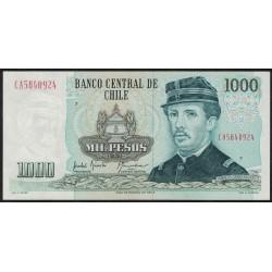 Chile P154e 1000 Pesos 1991