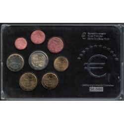 Eslovaquia Euros Set de 8 Valores 2009 UNC