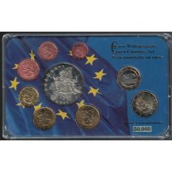 Finlandia Euros Set de 9 Valores 2008 UNC