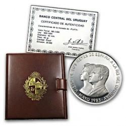 Uruguay N$2000 1983 Plata 65g Proof UNC