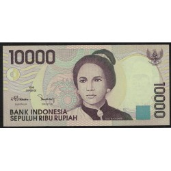 Indonesia P137a 10000 Rupias 1998 UNC